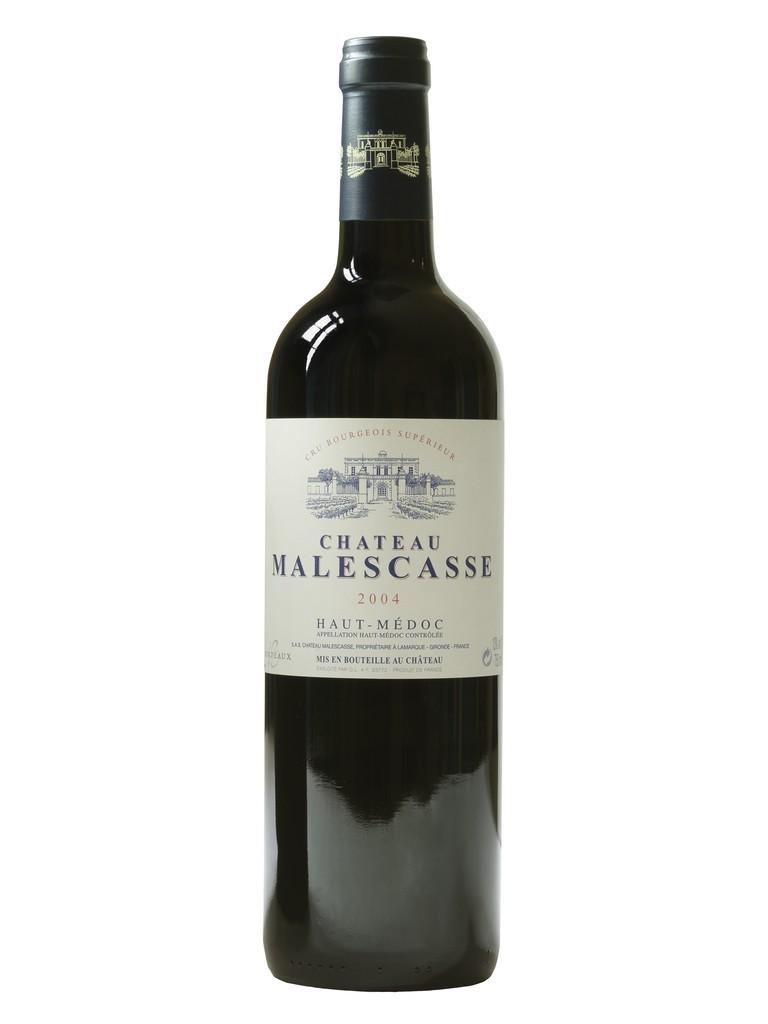 Château Malescasse vin rouge millésime 2004