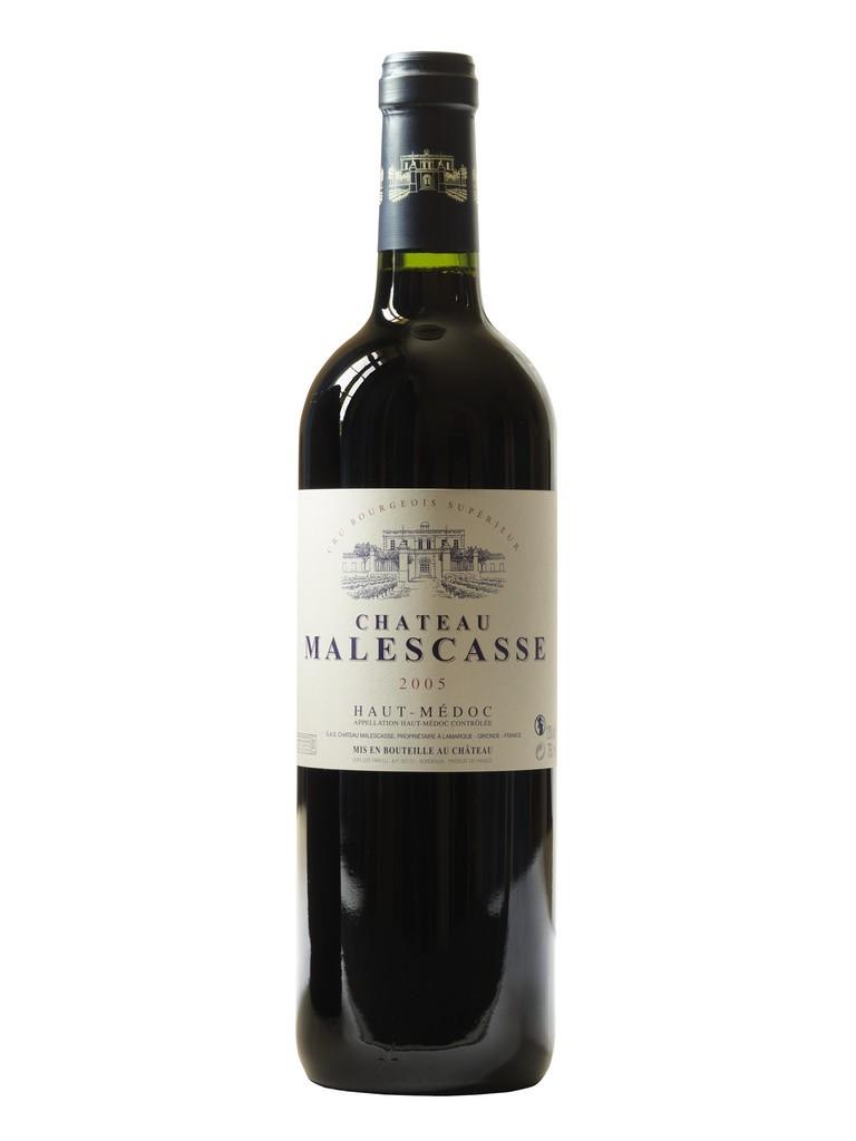 Château Malescasse vin rouge millésime 2005