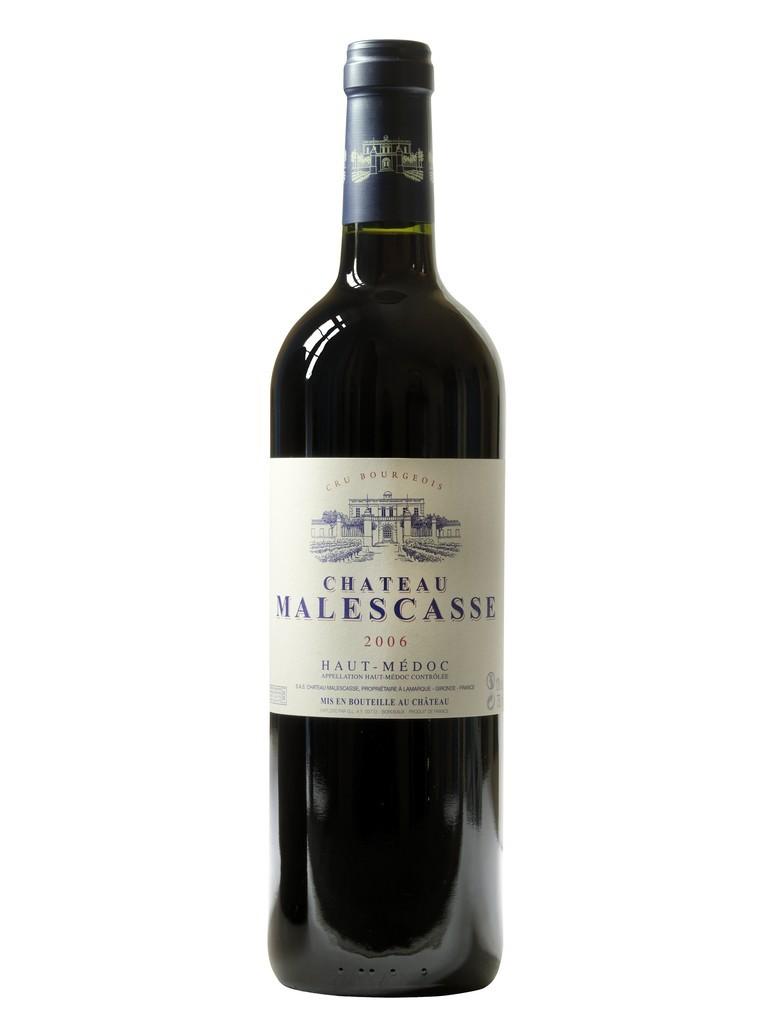 Château Malescasse vin rouge millésime 2006