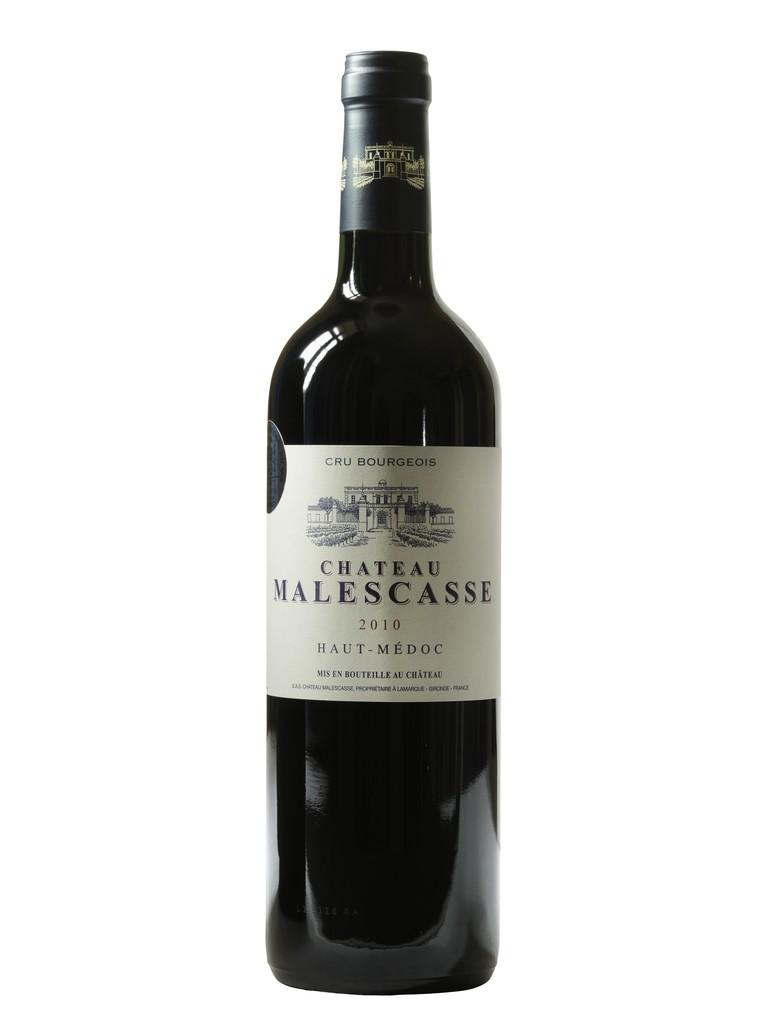 Château Malescasse vin rouge millésime 2010