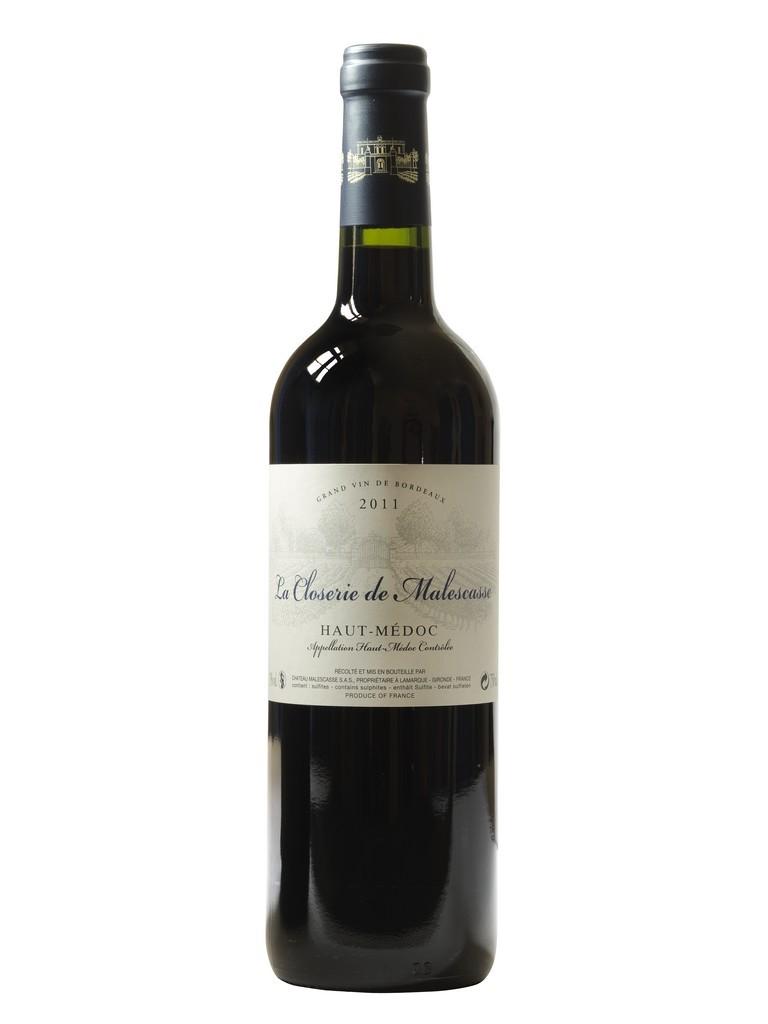 La Closerie de Malescasse vin rouge millésime 2011