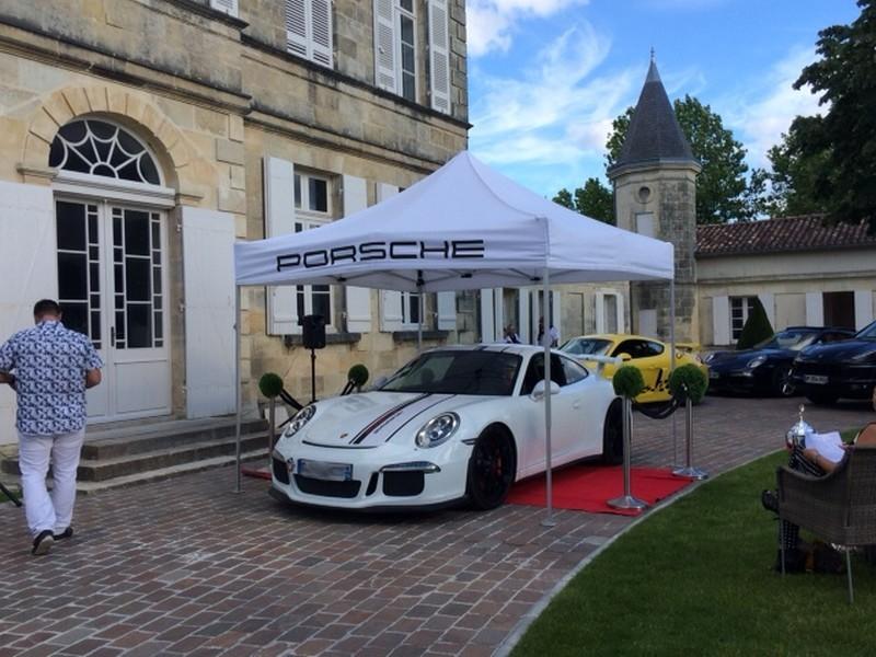 Show Porsche 2016 Malescasse - podium jury