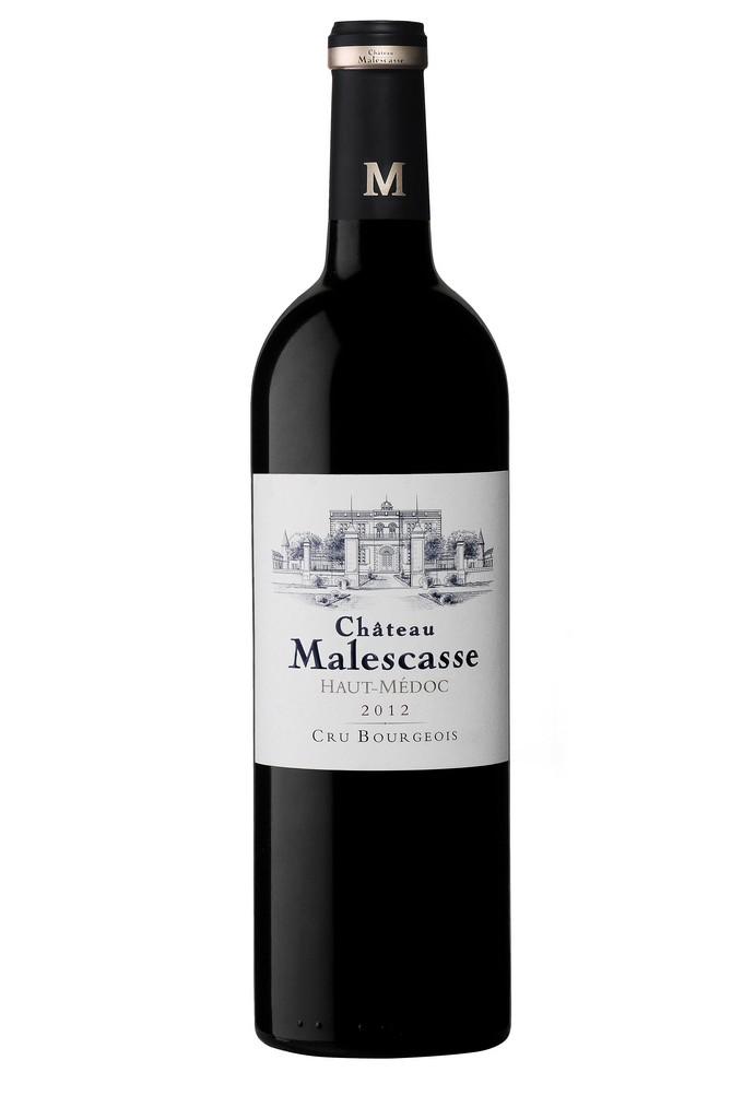 Château Malescasse vin rouge millésime 2012