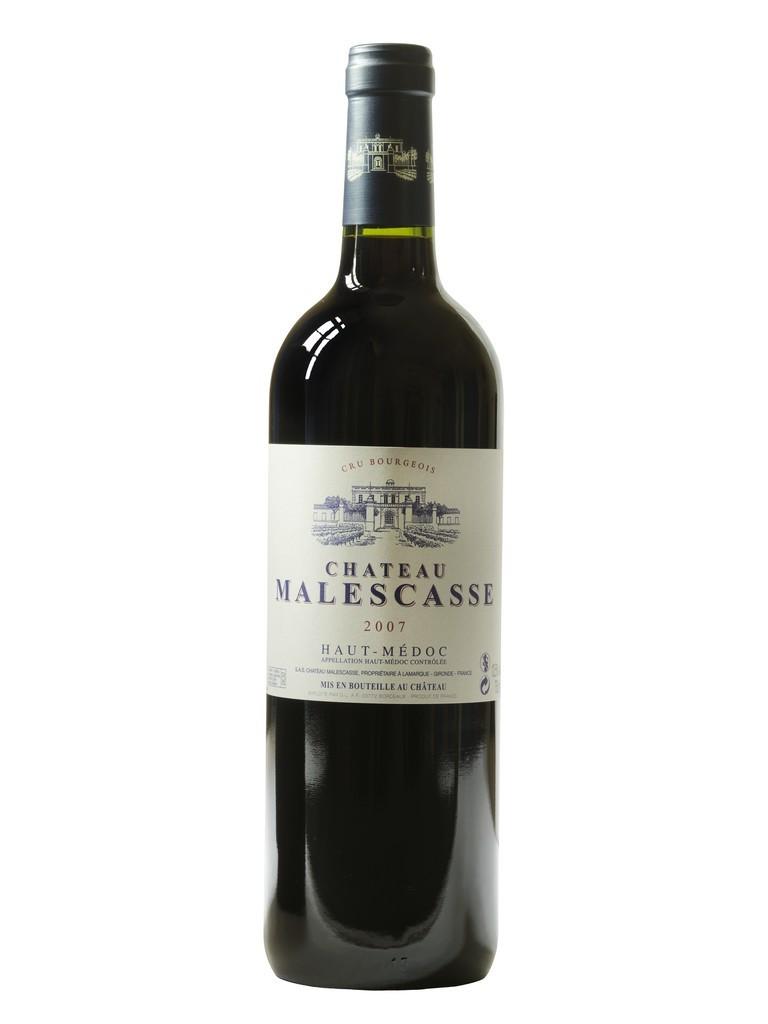Château Malescasse vin rouge millésime 2007