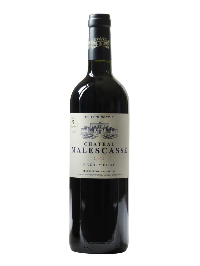 Château Malescasse vin rouge millésime 2009