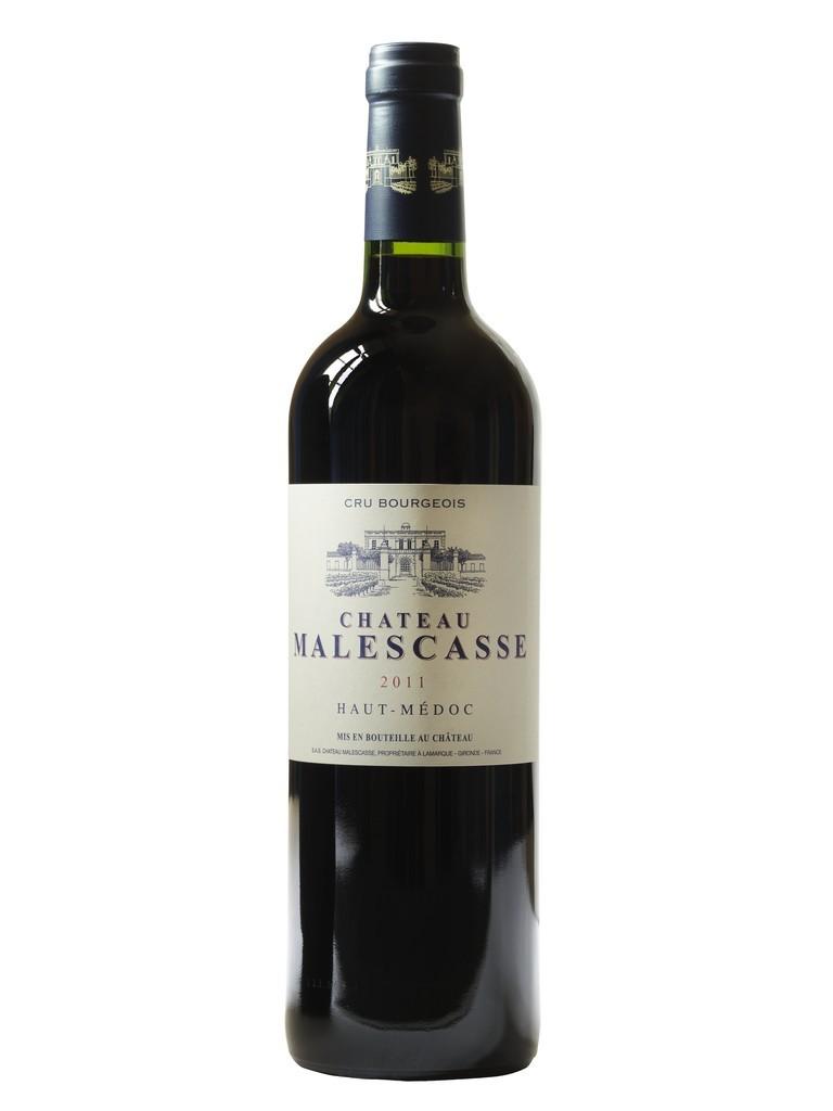Château Malescasse vin rouge millésime 2011