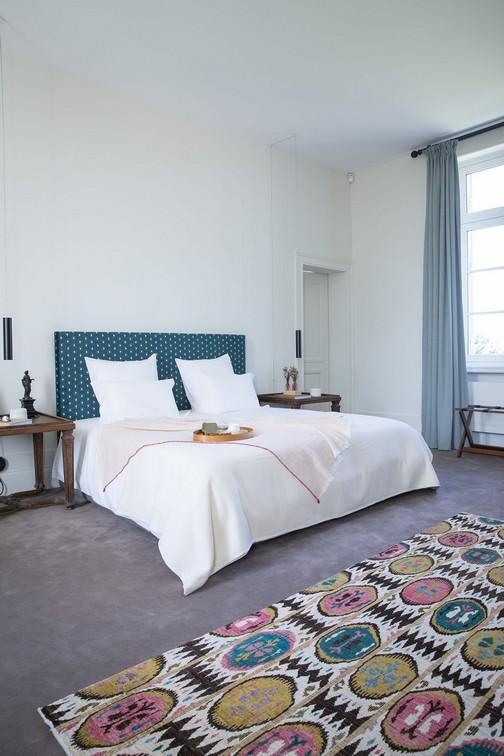 Chambre confort de Chateau Malescasse, une des quatre chambres de notre offre château d'hôtes en médoc