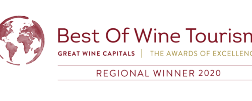 Logo du lauréat Best of Wine Tourism