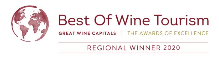 Logo du lauréat Best of Wine Tourism